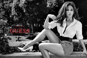 Jennifer Lopez Guess Campaign Photoshoot 5k Wallpaper
