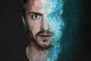 Jesse Pinkman Breaking Bad 4k Low Poly Wallpaper