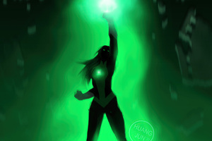 Jessica Cruz Green Lantern 5k Wallpaper