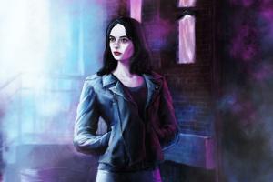 Jessica Jones In Defenders Artwork