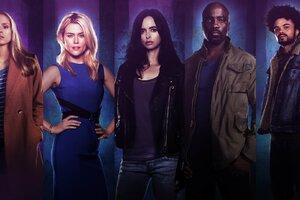 Jessica Jones Tv Cast Wallpaper