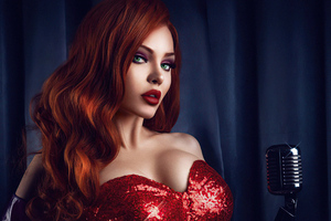 Jessica Rabbit Cosplay 4k Wallpaper