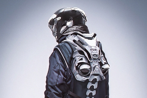 Jet Stream Mask Guy 4k Wallpaper