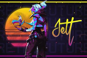 Jett Valorant 4k Game