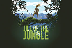 Jill Of The Jungle Wallpaper