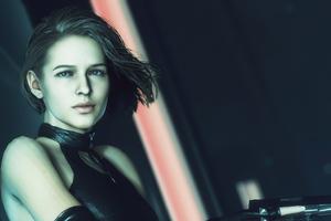 Jill Resident Evil With Gun 4k Wallpaper