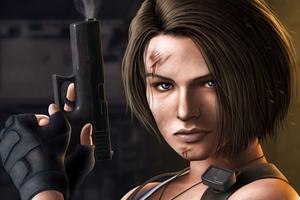 Jill Valentine Resident Evil 3 2020 4k