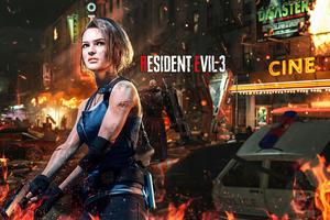 Jill Valentine Resident Evil 3 4k 2020 Wallpaper