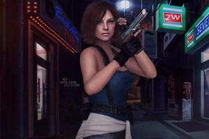Jill Valentine Resident Evil Wallpaper