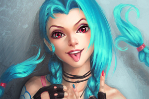 Jinx League Of Legends 2016