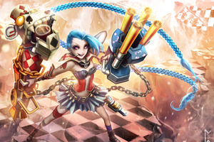 Jinx League Of Legends 4k 5k