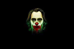 Joaquin Phoenix Joker Dark Minimal 4k