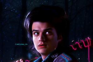 Joe Keery Stranger Things Fan Art 4k Wallpaper