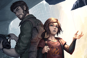 Joel And Ellie The Last Of Us Wallpaper