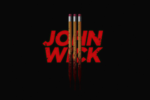 Joh Wick 3 Dark Poster