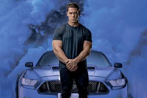 John Cena Jakob Toretto In Fast 9 8k Wallpaper