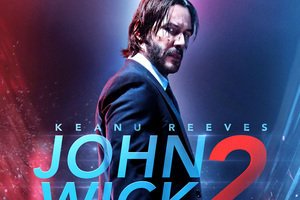 John Wick 2 Bluray Poster Wallpaper