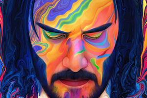 John Wick 3 Colorful Art Wallpaper