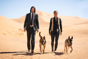 John Wick 3 Movie Halle Berry 2019 Wallpaper