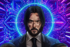 John Wick 3 New Art Wallpaper