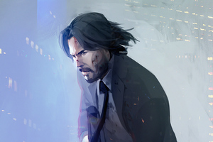 John Wick 4k 2019 Art Wallpaper