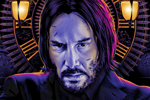 John Wick Art Movie