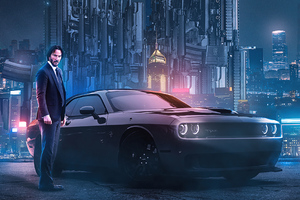 John Wick Chapter 3 Altenate Poster 4k Wallpaper