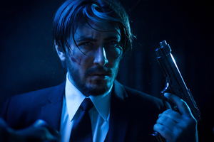 John Wick Cosplay 4k Wallpaper