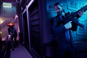 John Wick In Fortnite