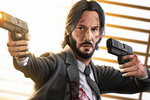 John Wick Is Coming 4k Wallpaper