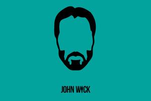John Wick Minimalism Wallpaper