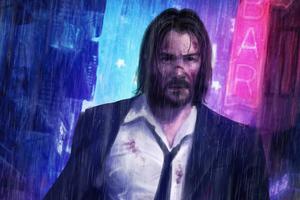 John Wick Rain Wallpaper
