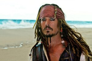 Johnny Depp Pirates Of Caribbean Wallpaper