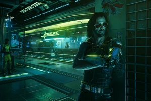 Johnny Silverhand 4K Cyberpunk 2077 Wallpaper