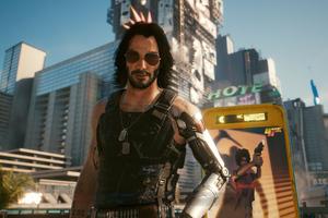 Johnny Silverhand Cyberpunk 2077 4k