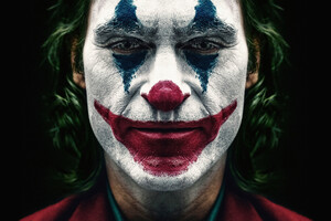 Joker 2019 Joaquin Phoenix Clown Wallpaper