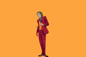 Joker 2020 4k Minimalism Wallpaper