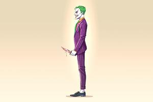 Joker 4k Minimalism 2020