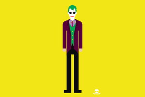 Joker 4k Minimalism Wallpaper