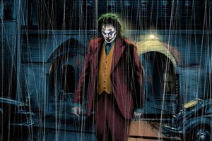 Joker 4k Newart Wallpaper