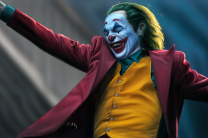 Joker 4k Smile