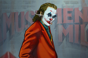 Joker 4k Smoker Wallpaper