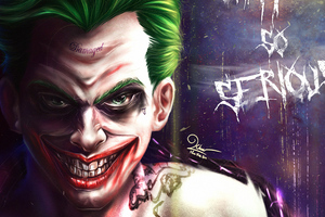 Joker 4kwhy So Serious Wallpaper