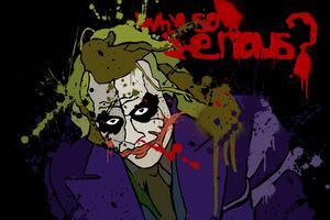 Joker 5k Art