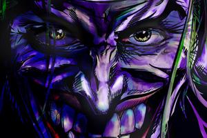 Joker 5k Sketch Artwork Wallpaper