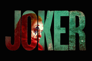 Joker 8k Logo Wallpaper