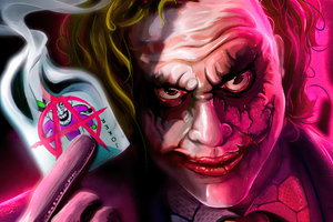 Joker Anarchist 4k