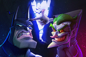Joker And Batman Artwork