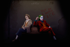 Joker And Evil Joker Wallpaper