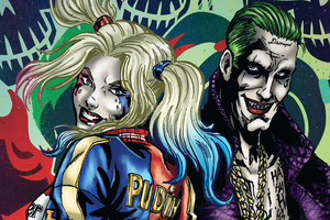 Joker And Harley Quinn Art